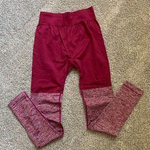 Maroon Gymshark Legging